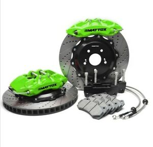 Mustang Mattox 6 Pot Big Brake 2011 2012 2013 2014 V6 Brembo Big Kit Convertion