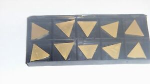 New 10pcs Tpg 322 Tin Coated Carbide Inserts