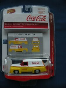 Coca-Cola Johnny Lightning 56 Ford F-100 Panel Delivery Limited Edition 1of2 500