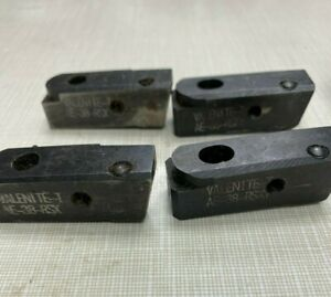 Lot Of 4 Used Valenite Carbide Insert Tool Cartridge Ae 38 rsxy