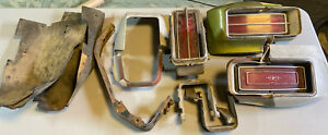 1973 Hurst Olds Oldsmobile Cutlass Rear Tail Light Housings And Misc Parts