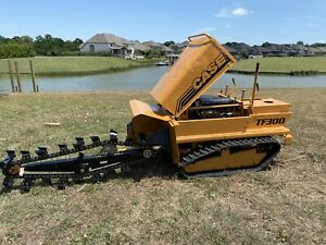 Case Tf300 Tf300b Trencher Trincha Rubber Track Astec Ditch Witch