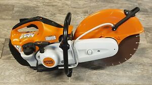 Stihl Ts420 Gasoline Concrete Cut off Saw With 14 Disk Ts 420