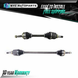Front Left Right Cv Axle Half Shaft For 1989 1992 Geo Prizm Toyota Corolla 2wd