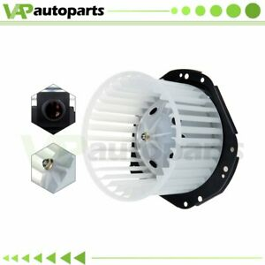 Hvac Heater Blower Motor With Fan Cage 3067867 3537854 Abs Plastic