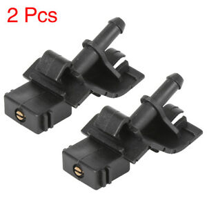 2pcs 85381 12300 Windshield Washer Nozzle Wiper Spray For Toyota Corolla Camry