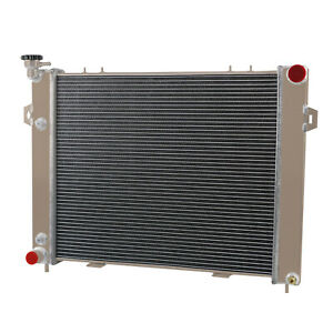 3 Row Radiator For 1993 1997 1996 Jeep Grand Cherokee Wagoneer 5 2l V8 Off Road