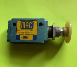 used 180001 112 0037 mac push Button Valve free Shipping
