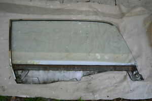 1964 5 1965 1966 Mustang Coupe Right Rh Door Glass Carlite Clear M30