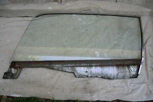 1964 5 1965 1966 Mustang Coupe Left Lh Door Glass Carlite Clear M30