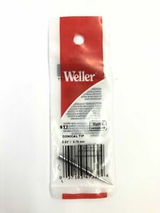 New Weller St7 0 03 0 79mm Conical Tip For Wp25 Wp30 wp35 Wlc100