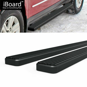 4 Black Eboard Running Boards Fit Chevy Traverse 07 16 Gmc Acadia 07 17