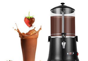 Yuchengtech 10l Commercial Hot Chocolate Maker Machine Chocolate dispenser wa