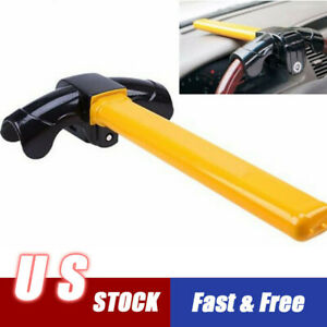 Universal Car Anti theft T Style Heavy Security Rotary Steering Crook Wheel Lock