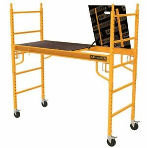 Metaltech Scaffold set baker safeclimb plus Guard Rail System Included