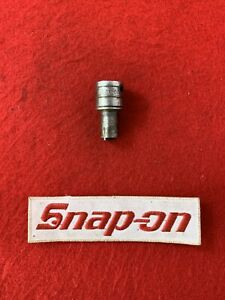 Snap On F 21 N 3 8 Drive Spring Loaded Oil Pan Socket Broken H4