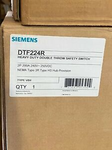 Siemens Dtf224r Double Throw Safety Switch