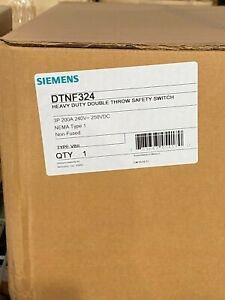 Siemens Dtnf324 Double Throw Safety Switch