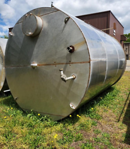7400 Gallon Stainless Steel Peroxide Tank