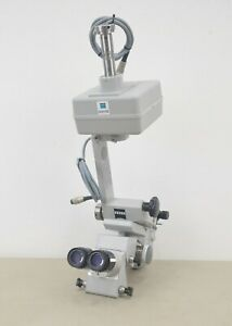 Carl Zeiss Opmi Mdu Operating Surgical Microscope W 10x 22b T Eyepieces