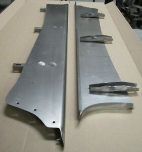 New 1940 Chevrolet 2 Wider Car Smooth Steel 16g Running Boards All Models