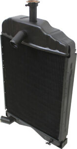 579004m91 Radiator For Massey Ferguson 20c 230 245 Tractors