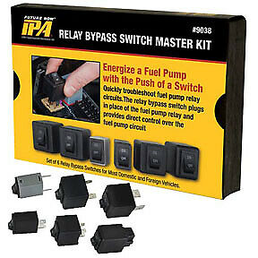 Fuel Pump Relay Bypass Master Kit 9038