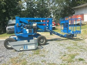 Genie Z45 22 45 22 Propane Gas Articulating Boom Lift Manlift