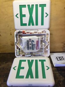 Hubbell Lighting Dual lite Eveugwe Hubbell Lighting Duallite Exit Sign