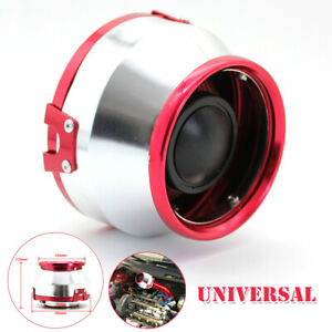 3 76mm Car Air Filter Clean Intake High Flow Short Ram cold Round Cone Non woven
