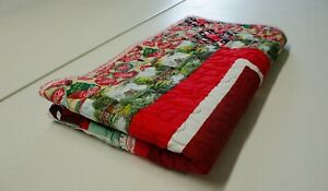 HANDCRAFTED QUILT - Made in Tennessee - Coca-Cola Patch 100% cotton
