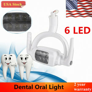 6 Led Dental Teeth Lamp Oral Ceiling Light For Induction Unit Chair Tool 6000k