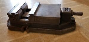Large Milling Mill Machine Machinist Drill Press Vise With V Jaws No 24