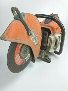 Stihl Ts420 Concrete Cut Off Saw 14 With Water Attachment