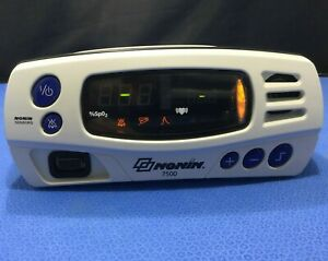 Nonin 7500 Portable Pulse Oximeter No Power Supply With Working Battery Kp