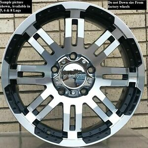 4 Wheels For 17 Inch Dodge Ram 1500 2007 2008 2009 2010 2011 2012 Rims 1803