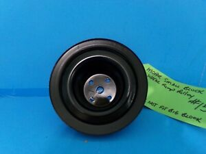 Mopar Small Block 1 Groove Water Pump Pulley Painted 15 318 340 360 Hot Rod