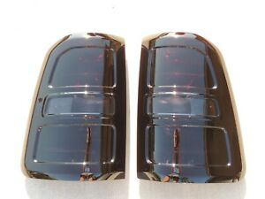 19 Ram 1500 Smoked Tail Lights Oem Factory Custom Left Right Tinted Black