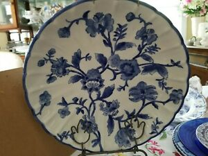 Large Asain Bowl Blue And White