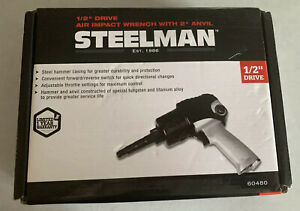 Steelman 1 2 Inch Drive General Purpose Impact Wrench Air Tool