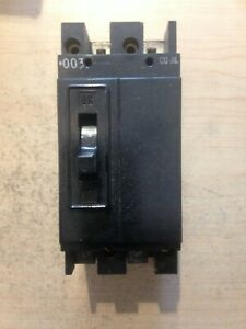New General Electric Te22050 50 Amp 2 Pole 240 Volt Circuit Breaker
