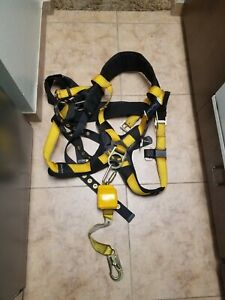 Fall Tech Safety Harness 4xl With Fusion 8 Fall Restraint