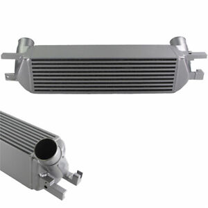 Front Mount Intercooler For Ford Mustang 15 19 Ecoboost 2 3l Turbo Sliver