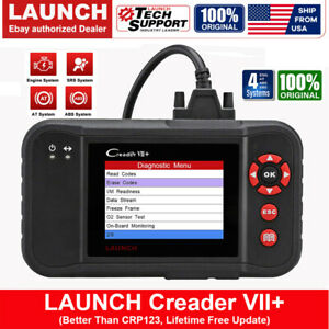 2020 Upgraded Launch X431 Crp123 Vii Obd2 Diagnostic Scanner Fault Code Reader