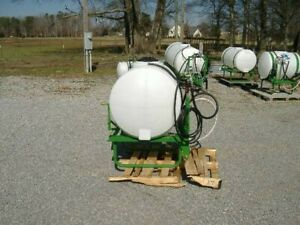 New 110 Gallon Boom less Sprayers 1350 00 With 6 Roller Pump And With Hand Gun