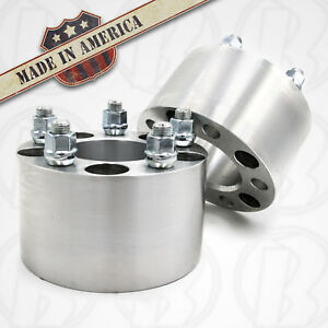 2 Usa Made 5 Lug 4 75 To 5x4 5 Wheel Adapters 3 Spacers 12mm 1 5 Studs