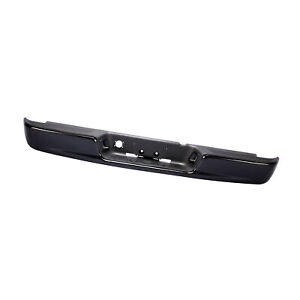 Rear Steel Black Step Bumper Assembly For 2004 2006 Dodge Ram Fit Ch1103112