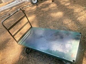 lot Of 7 Industrial Steel Service Carts South Tahoe