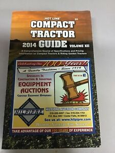 Hot Line Compact Tractor Blue Book Farm Equipment Guide 2014 Edition