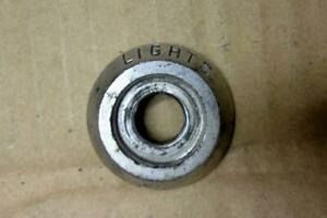 1966 Plymouth Barracuda Dash Headlight Switch Bezel Trim